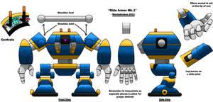 Ride Armor MK1 Model Sheet