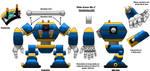 Ride Armor MK1 Model Sheet by MechaKraken