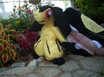 Mawile Plushie! Plants and Flowers! by MechaKraken