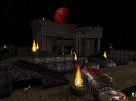 Unreal Map 'Cabeza Shrine' 01