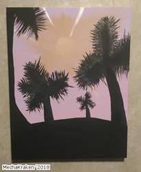 Palmtree Painting by MechaKraken