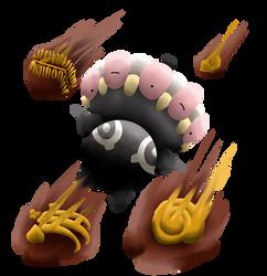 Claydol used Ancient Power! by MechaKraken