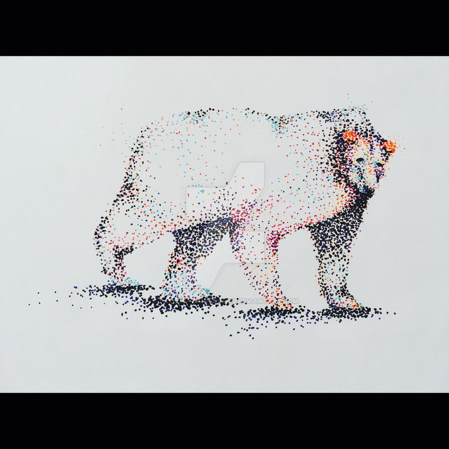 Polar pointillism  by Taylor--Dannielle19