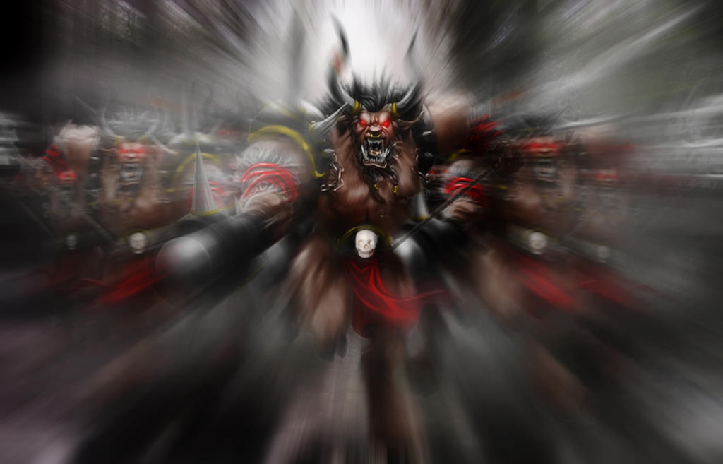 Minotaur Army!!! by BlackPicasso1989