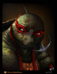 TMNT-Raphael by BlackPicasso1989