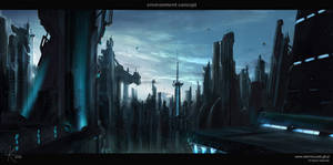 Future world by adamkuczek