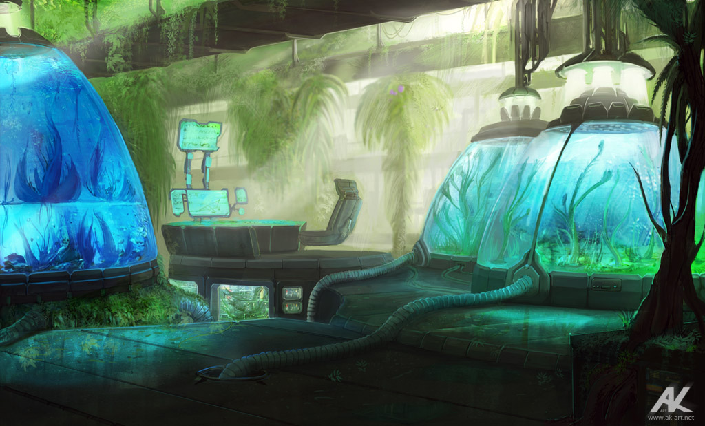Laboratory by adamkuczek