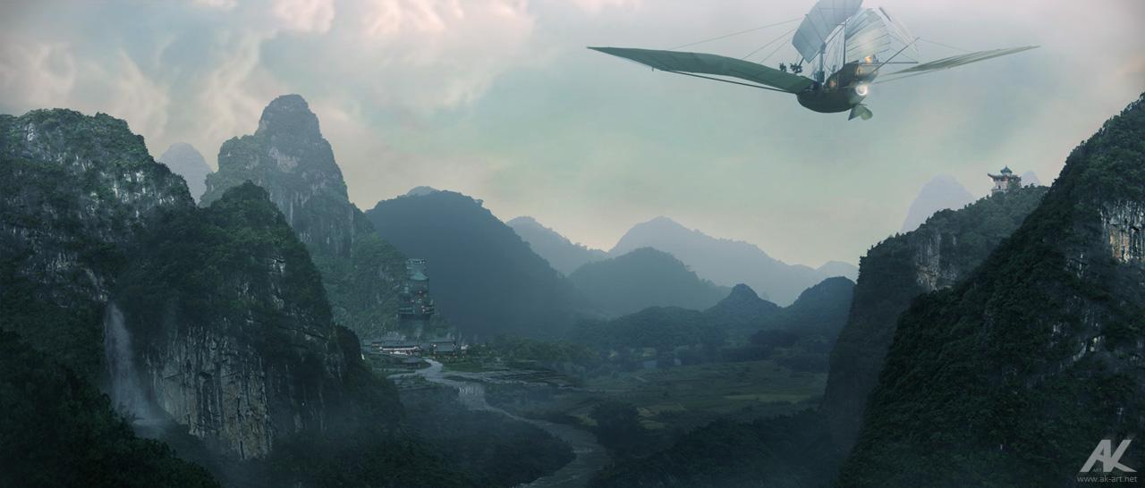 Misty Valley by adamkuczek