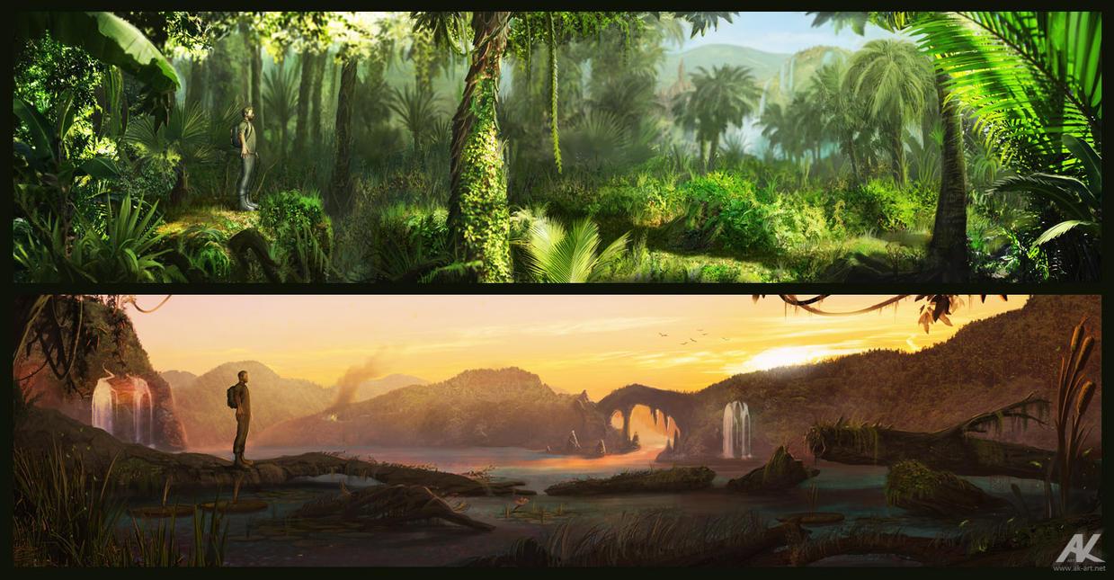 Across the wilderness by adamkuczek