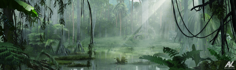 The swamps by adamkuczek
