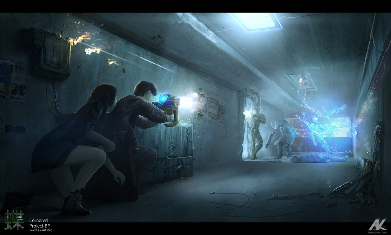 Cornered by adamkuczek