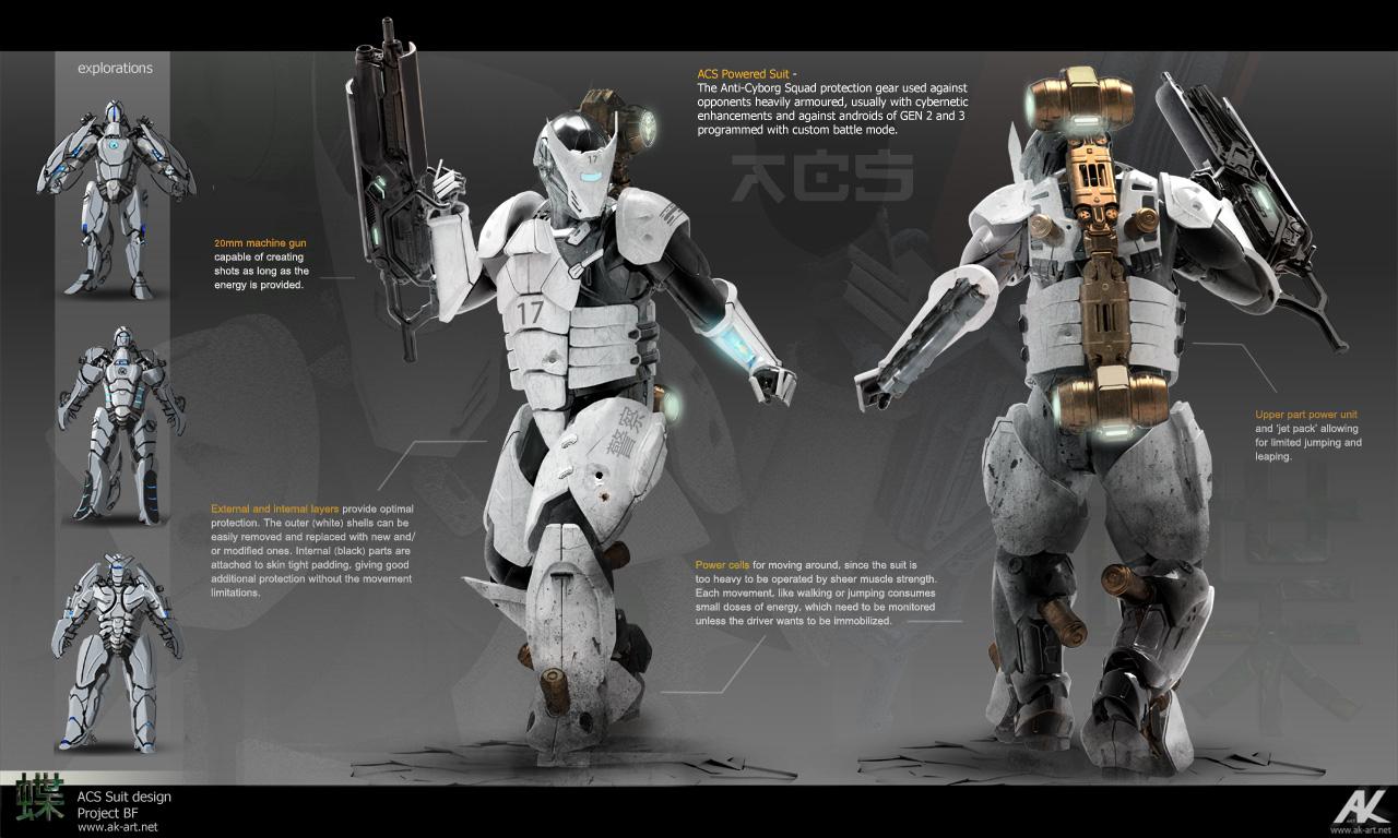 ACS Suit design by adamkuczek