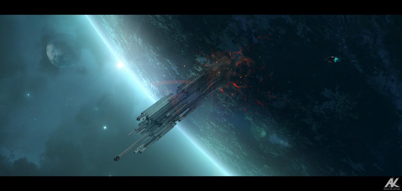 Approaching TX-4 by adamkuczek