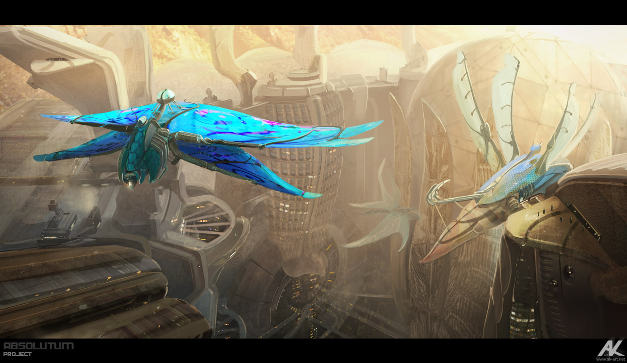 Absolutum - air-frigates by adamkuczek