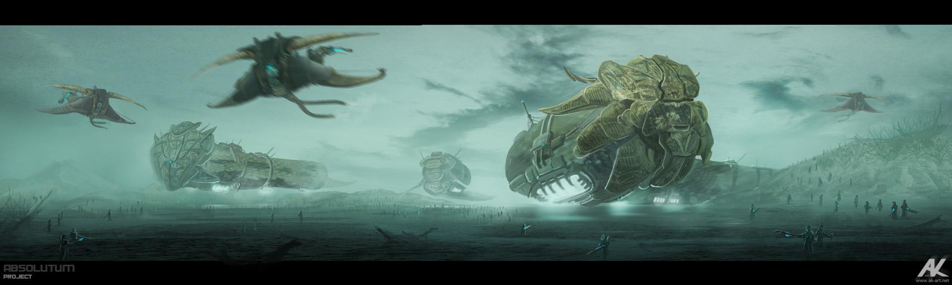 Absolutum - nomadic army by adamkuczek
