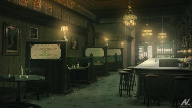 Cosy bar by adamkuczek