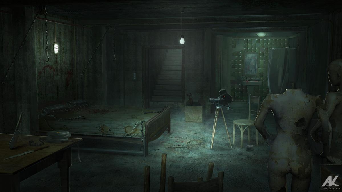 basement by adamkuczek on deviantart