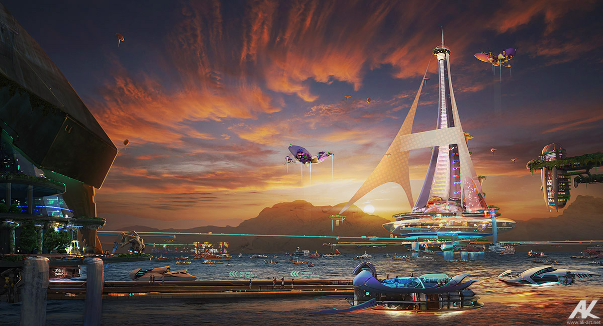 Harbor by adamkuczek