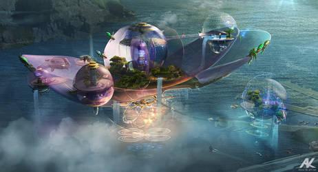 Floating residences by adamkuczek
