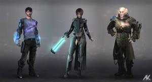 aRevolution characters by adamkuczek
