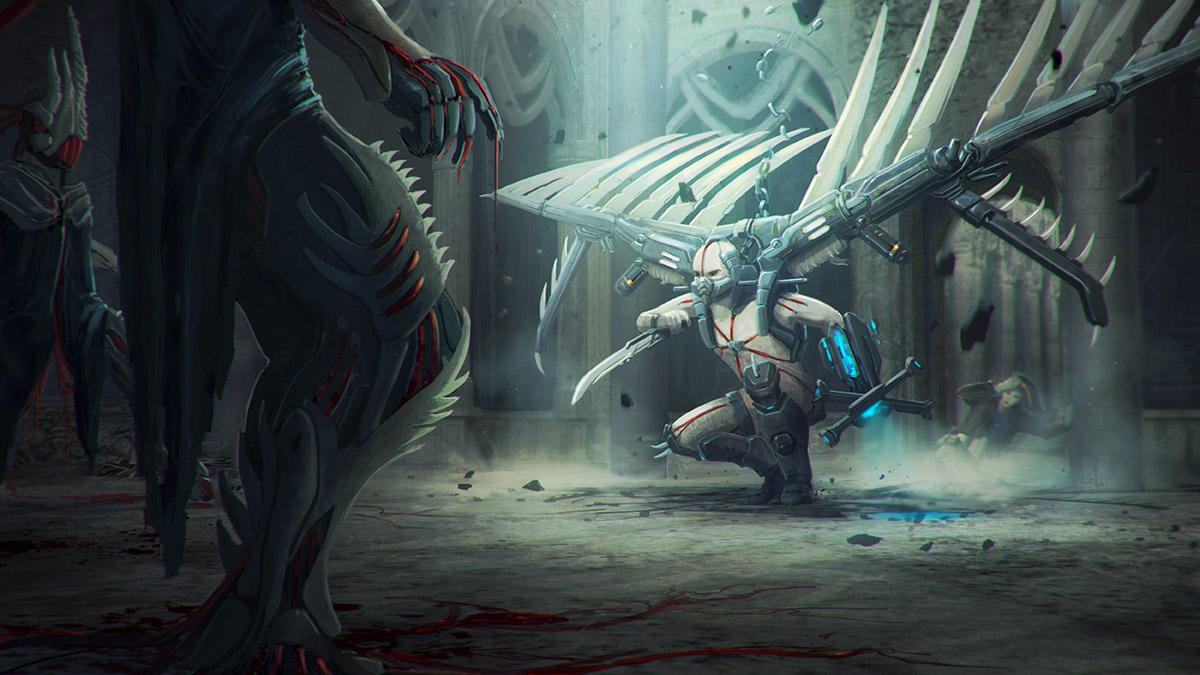 Guardian angel by adamkuczek