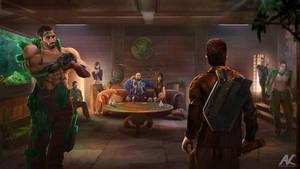 Jade Dragon Club by adamkuczek