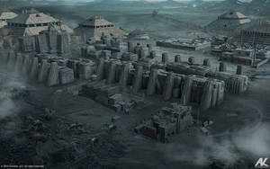 Mining town - U7 by adamkuczek
