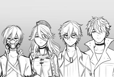 [ GE3 ] Squad by squavery
