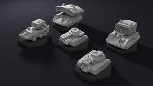 Battletech Vehicles