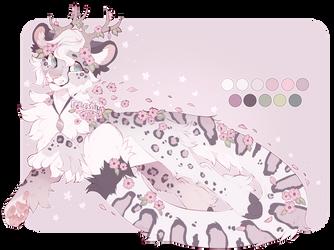 Sakura Snow Leopard - Auction - Closed by Feliosity