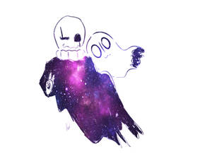 Gaster and Napstablook