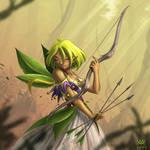 Elf in the breeze