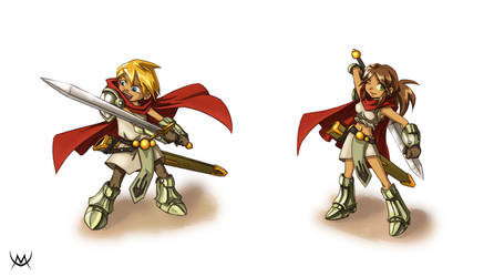 T-RPG style