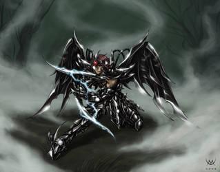 Black Sagittarius by Maxa-art
