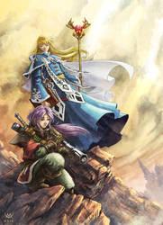 Gold Saint Fantasy by Maxa-art