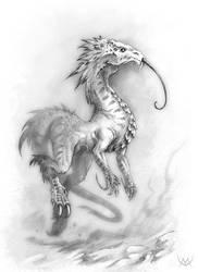 Fourmiliosaure by Maxa-art