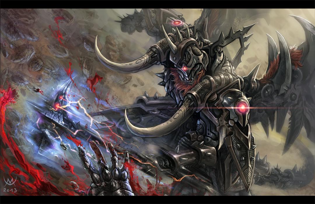 Behemoth - Unstoppable by Maxa-art