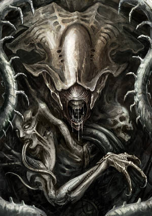 Giger Tribute by Maxa-art