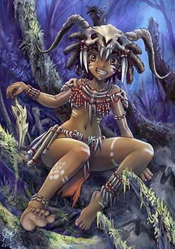 Bone Tribe Girl