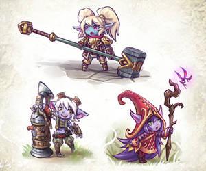 League of Yordles by Maxa-art
