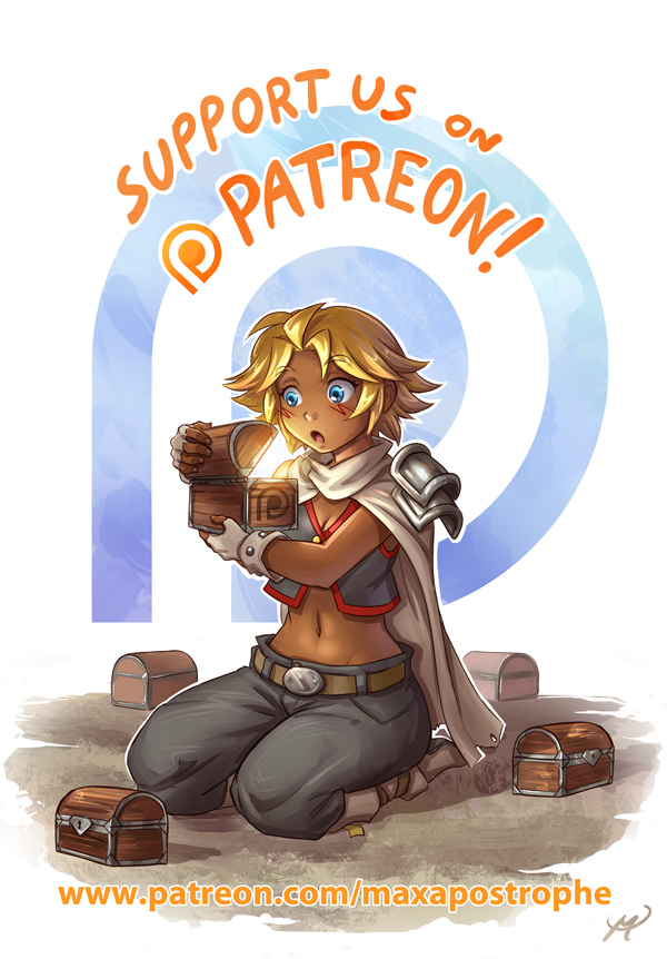Patreon Launch! by Maxa-art