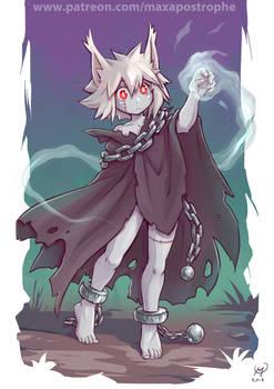 Catgirl Hexer