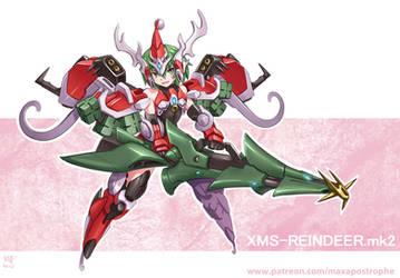 XMS-Reindeer by Maxa-art