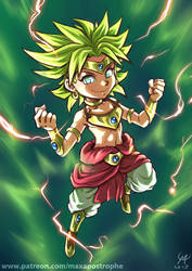 Can't spell Broly... by Maxa-art