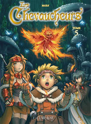 Les Chevaucheurs - Volume 5 cover by Maxa-art