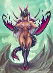 Phantom Dragon Girl