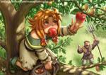 Apples by Maxa-art