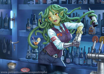Gorgon Bartender