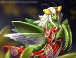 Praying Mantis by Maxa-art