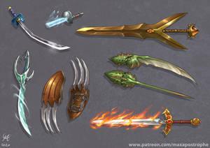 Magic Weapons set